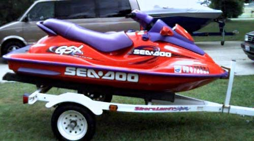 98 Sea Doo GSX Limited